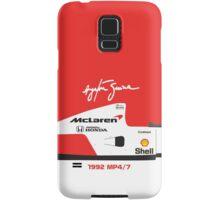 Ayrton Senna's 1992 McLaren MP4/7 Samsung Galaxy Case/Skin