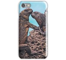 Galapagos Iguanas iPhone Case/Skin