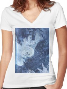 Exploration Women's Fitted V-Neck T-Shirt