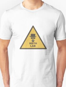 Breaking Bad Meth Lab Sign T-Shirt