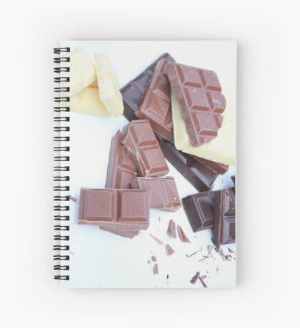 Triple Chocolate Spiral Notebook