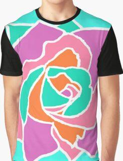 Pop Art Rose Graphic T-Shirt