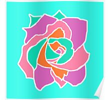 Pop Art Rose Poster