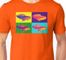 Colorful 1960 Cadillac Luxury Car Pop Art Unisex T-Shirt