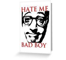 Hate Woody Allen Greeting Card