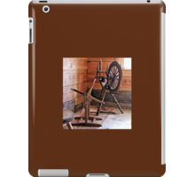 Swedish Spinning Wheel iPad Case/Skin