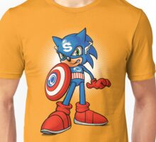 Captain Sonic Unisex T-Shirt
