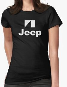 Jeep Auto Off Road Womens Fitted T-Shirt