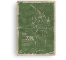 Kendo: Nito-Ryu Canvas Print