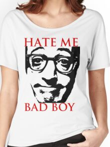Hate Woody Allen Women's Relaxed Fit T-Shirt