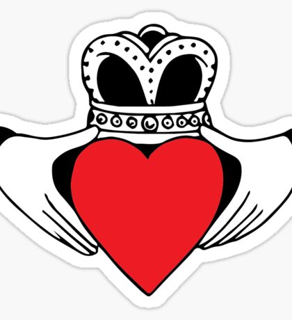 Claddagh Sticker