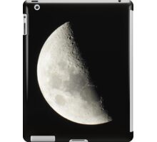 Moon Closeup iPad Case/Skin