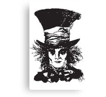 As Mad as a Hatter Canvas Print