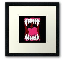 Big Mouth Framed Print