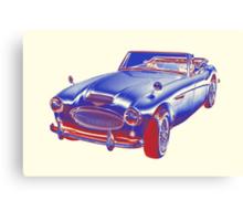 Austin Healey 300 Sports Car Pop Image Canvas Print