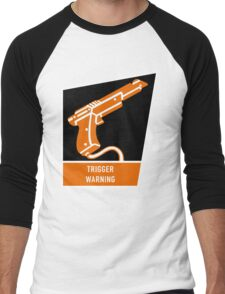 Trigger Warning Men's Baseball ¾ T-Shirt