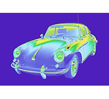 1962  Porsche 356 E Pop Image Photographic Print