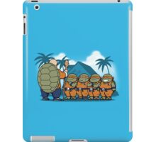Ninja Kame Kids iPad Case/Skin