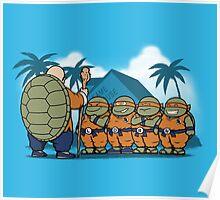 Ninja Kame Kids Poster