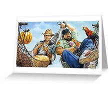 Who Finds a Friend Finds a Treasure - Poster Greeting Card