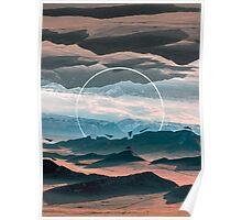 Desert Folds Poster