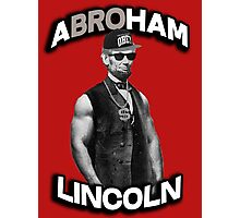 Abroham Lincoln. Abraham lincoln, abolish sleevery. Photographic Print