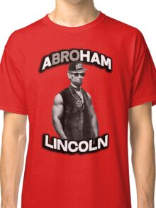 Abroham Lincoln. Abraham lincoln, abolish sleevery. Classic T-Shirt