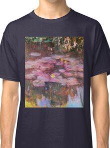 Claude Monet - Water Lilies 1917 6 Classic T-Shirt