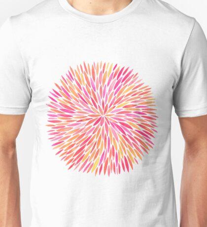 Watercolor Burst – Pink Ombré Unisex T-Shirt