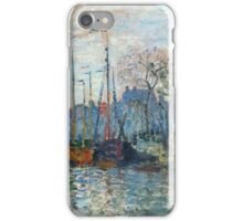 Claude Monet - Zaandam The Dike iPhone Case/Skin