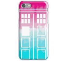 Tiedie TARDIS iPhone Case/Skin
