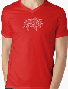Barley & Hops Buffalo Mens V-Neck T-Shirt