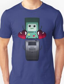 BMO and Game Boy's Love Unisex T-Shirt