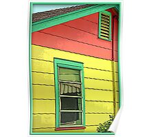 Colorful House Poster