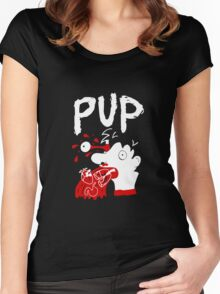 Pup the Band Women's Fitted Scoop T-Shirt