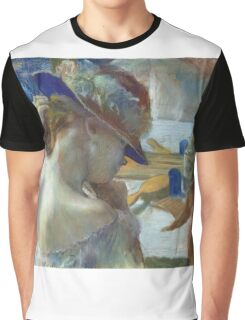 Edgar Degas - In Front Of The Mirror Graphic T-Shirt