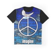 Imagine Peace Graphic T-Shirt