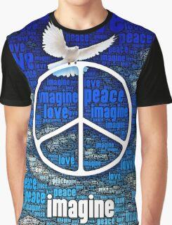 Imagine Peace Graphic T-Shirt