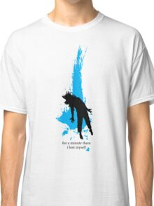 """""""For a minute there, I lost myself"""" - Radiohead - dark Classic T-Shirt"""