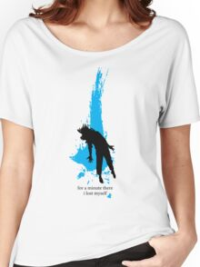 """""""For a minute there, I lost myself"""" - Radiohead - dark Women's Relaxed Fit T-Shirt"""