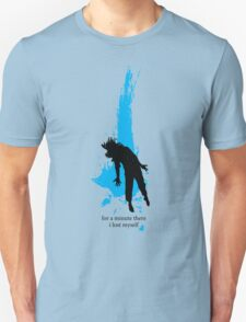"""""""For a minute there, I lost myself"""" - Radiohead - dark Unisex T-Shirt"""