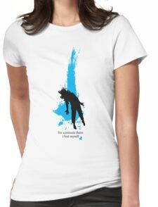 """""""For a minute there, I lost myself"""" - Radiohead - dark Womens Fitted T-Shirt"""
