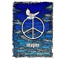 Imagine Peace Photographic Print