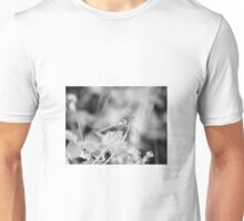 Dragonfly black and white Unisex T-Shirt