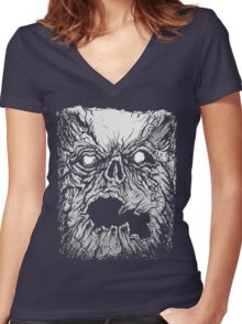 Evil Dead - The Book of the Dead - Necronomicon Women's Fitted V-Neck T-Shirt