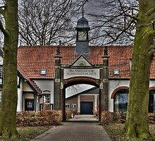 Headquarter in Holland during WW II  by TheaDaams