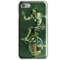 The French Olympian Trick Cyclist  iPhone Case/Skin