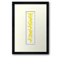 Pokemon Go - Team Instinct Side Design Framed Print