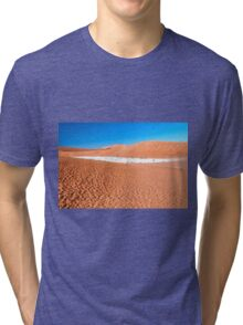 View of Deadvlei in early morning, Namibia Tri-blend T-Shirt