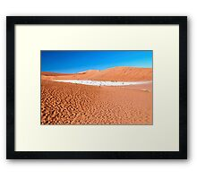 View of Deadvlei in early morning, Namibia Framed Print